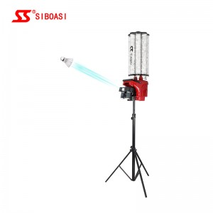 2019 High quality badminton shuttlecock thrower - S2025 Badminton Shuttle Throwing Machine – Siboasi