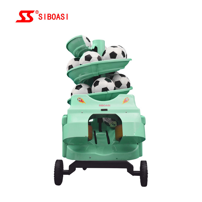 China wholesale soccer ball launcher - SIBOASI S6526 Football Soccer Throwing Machine – Siboasi