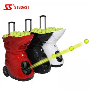 Chinese wholesale tennis ball throwing machine - S4015 Tennis Ball Machine – Siboasi